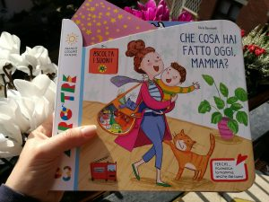 libro che cosa hai fatto oggi mamma