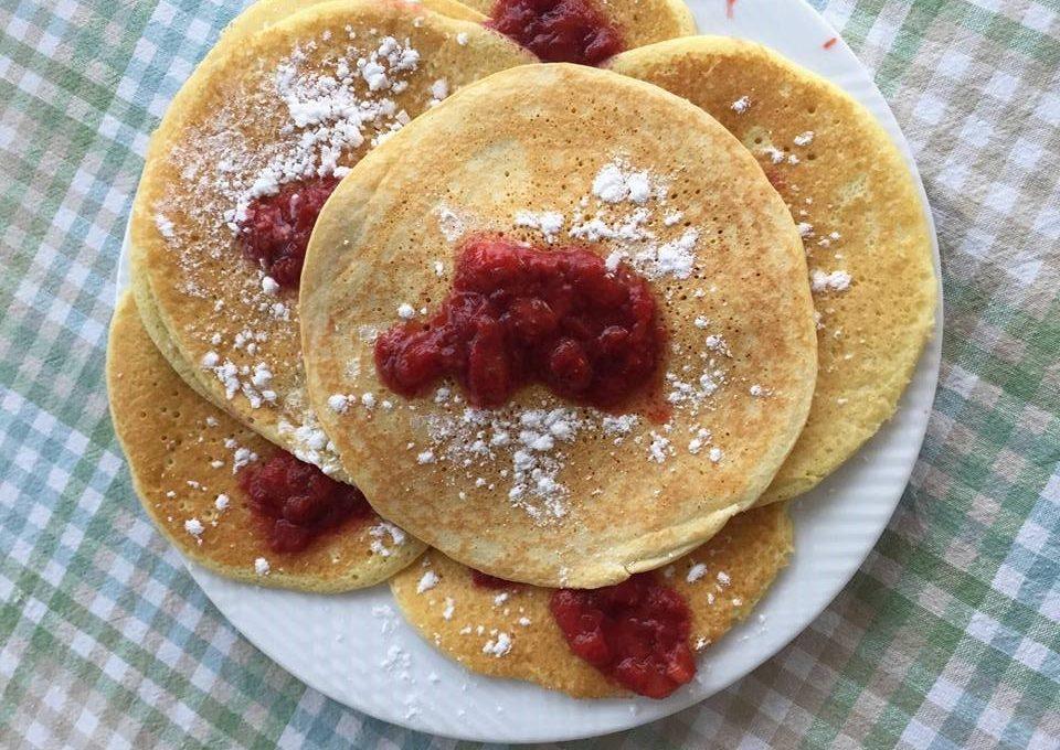 """Pancakes a colazione per i nostri """"pulcini""""!"""