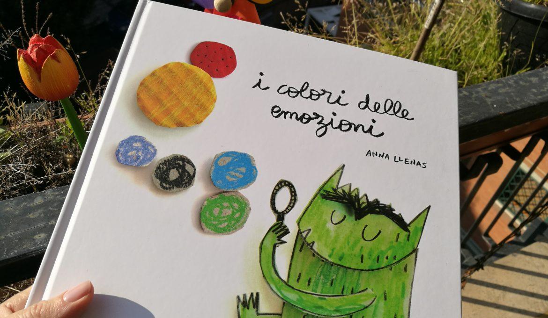 """Emozioni e bambini… vi consiglio il libro """"I colori delle emozioni""""!"""