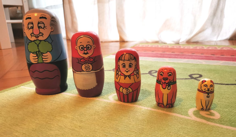 Le matrioske, semplici oggetti che possono diventare perfetti giochi educativi per i nostri bambini!